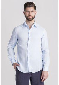 Koszula Emporio Armani na lato, biznesowa