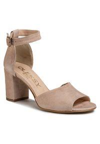 Beżowe sandały Oleksy #6