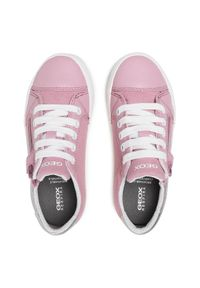 Geox Sneakersy J Gisli G. B J024NB 0AW54 C0514 S Różowy. Kolor: różowy