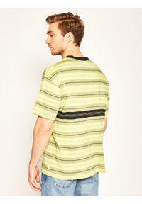 Zielony t-shirt Quiksilver