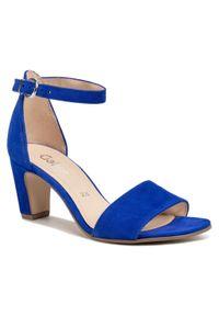 Niebieskie sandały Gabor