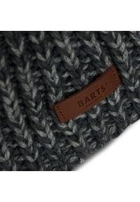 Barts - Czapka BARTS - Evron Beanie 44020191 Dark Heather. Kolor: szary. Materiał: akryl, materiał