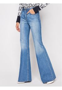 Niebieskie jeansy Victoria Victoria Beckham