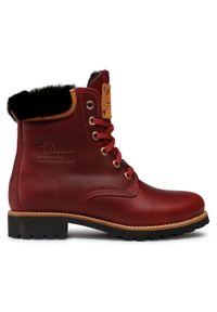 Czerwone buty trekkingowe Panama Jack