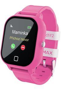 Różowy zegarek LAMAX smartwatch