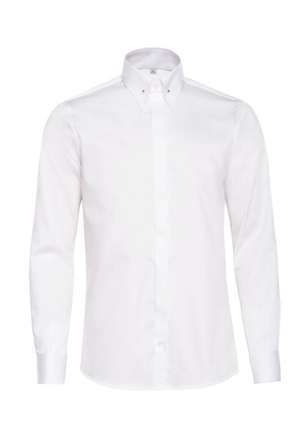 Elegancka koszula VEVA w kolorowe wzory