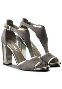 Szare sandały Karino