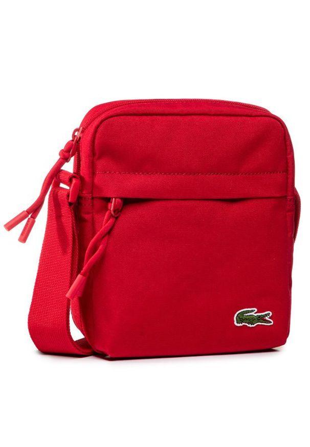 Lacoste Saszetka Vertical Camera Bag NH2102NE Czerwony. Kolor: czerwony