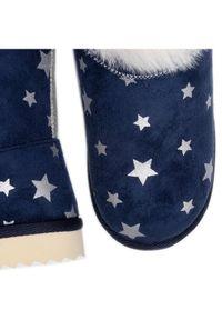 Pepe Jeans Buty Angel Print PGS50155 Granatowy. Kolor: niebieski. Wzór: nadruk