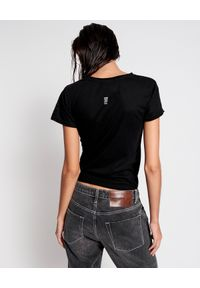 ONETEASPOON - Czarny t-shirt Lightening. Kolor: czarny. Materiał: bawełna. Wzór: nadruk. Styl: klasyczny