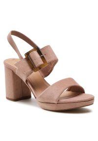 Różowe sandały s.Oliver