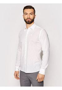 North Sails Koszula L/S Point Collar 664007 Biały Regular Fit. Kolor: biały