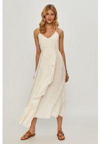 Sukienka TwinSet na co dzień, gładkie, na ramiączkach, asymetryczna