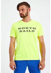 North Sails - T-SHIRT NORTH SAILS. Materiał: bawełna, guma. Wzór: napisy
