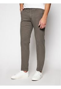 Marc O'Polo Spodnie materiałowe B21 0108 10064 Szary Tapered Fit. Kolor: szary. Materiał: materiał