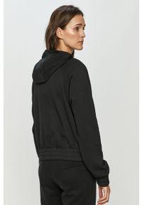 Czarna bluza rozpinana Nike Sportswear raglanowy rękaw, z nadrukiem