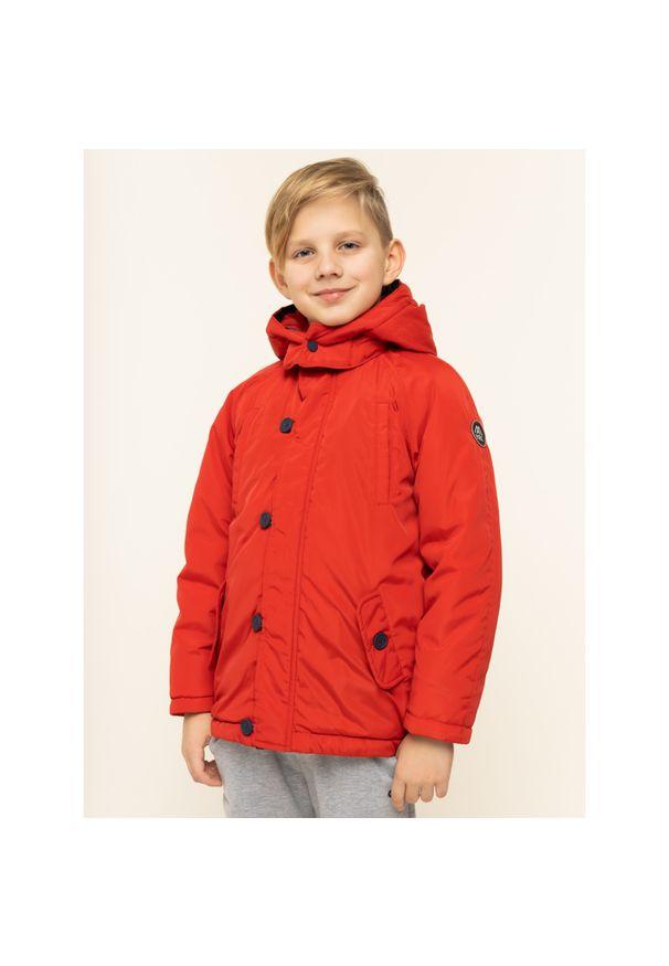 Czerwona kurtka puchowa Mayoral