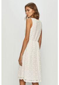 Biała sukienka Vila mini, casualowa