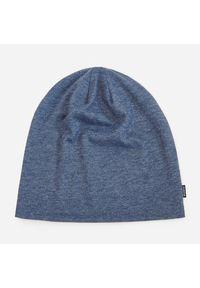 Niebieskie nakrycie głowy Reserved melanż