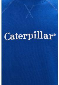 Niebieska bluza nierozpinana CATerpillar bez kaptura, na co dzień