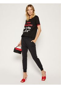 Czarny t-shirt Love Moschino