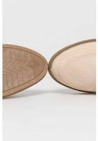 Answear Lab - Mokasyny lov'it. Nosek buta: okrągły. Kolor: beżowy. Materiał: guma. Styl: wakacyjny