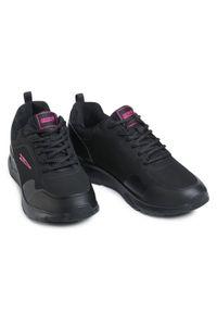 Czarne buty do fitnessu Sprandi z cholewką, na co dzień
