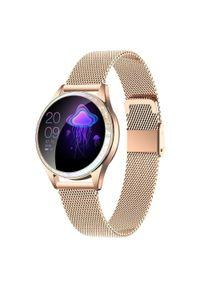 Złoty zegarek ARMODD smartwatch