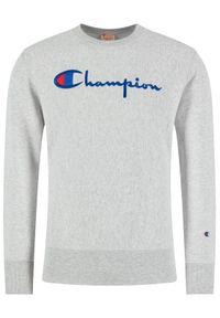 Champion Bluza Crewneck 215160 Szary Regular Fit. Kolor: szary