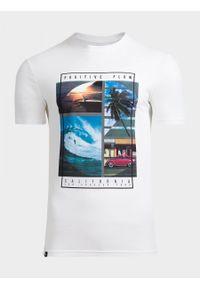 Biały t-shirt outhorn na lato
