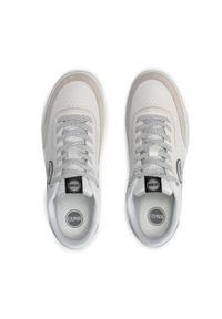 Colmar - Sneakersy COLMAR - Foley Phantom 068 White. Okazja: na co dzień. Kolor: biały. Materiał: zamsz, skóra. Szerokość cholewki: normalna. Styl: casual, sportowy