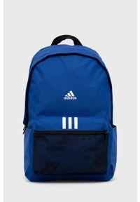 Adidas - adidas - Plecak. Kolor: niebieski. Materiał: poliester