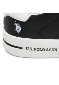 U.S. Polo Assn - Sneakersy U.S. POLO ASSN. - Vega141 VEGA4141S1/L1 Blk. Okazja: na co dzień. Kolor: czarny. Materiał: skóra, skóra ekologiczna, materiał. Szerokość cholewki: normalna. Styl: sportowy, casual
