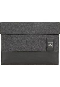 Czarne etui na laptopa RIVACASE