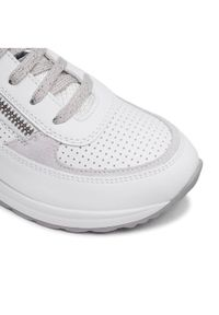 Geox Sneakersy D Airell A D152SA 08577 C1352 Biały. Kolor: biały