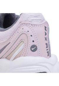 Różowe buty sportowe Nike Nike Air Max, z cholewką