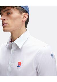 North Sails - NORTH SAILS - Biała koszula Saint-Tropez. Kolor: biały. Materiał: materiał. Długość rękawa: długi rękaw. Długość: długie. Wzór: aplikacja