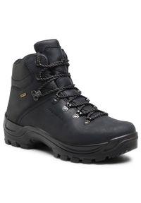 Czarne buty trekkingowe Alpina trekkingowe