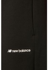 Czarne spodnie dresowe New Balance