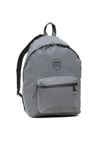 Srebrna torba na laptopa Blauer
