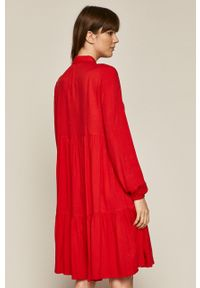 Czerwona sukienka medicine mini, casualowa