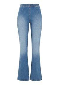 Cellbes Dżinsowe legginsy Evelina błękitny female niebieski 58S. Kolor: niebieski. Materiał: guma, materiał