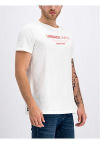 Biały t-shirt Versace Jeans