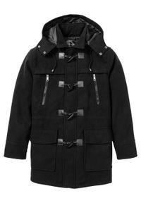 Czarna kurtka bonprix klasyczna