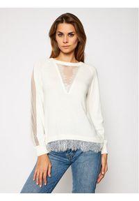 Beżowy sweter klasyczny TwinSet