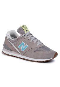 Szare buty sportowe New Balance New Balance 996, z cholewką, na co dzień