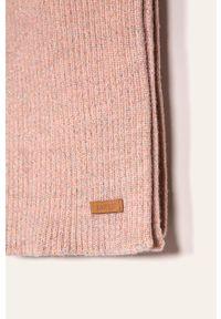 Różowy szalik Barts