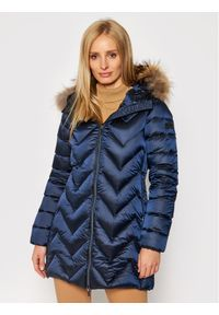 Niebieska kurtka zimowa Hetrego