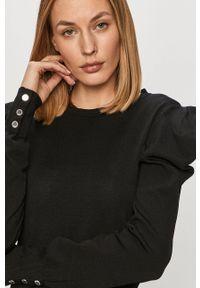 Czarna bluzka Morgan długa, z długim rękawem