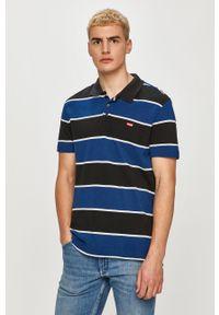 Wielokolorowa koszulka polo Levi's® krótka, biznesowa, polo
